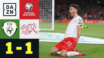 Fabian Schärs Treffer reicht nicht: Irland – Schweiz 1:1 | EM-Quali | DAZN Highlights
