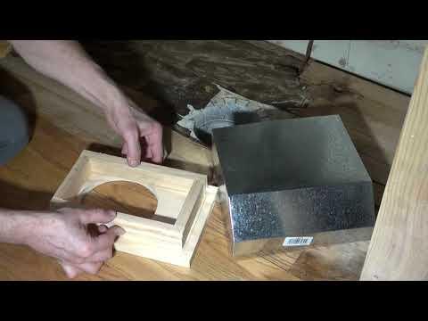 19. How To Make Floor Vent Under Cabinet. Воздушная труба под тумбочку