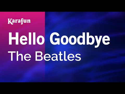 Karaoke Hello Goodbye - The Beatles *