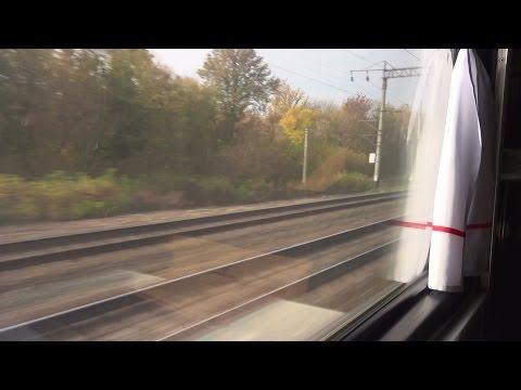 Поездка на скором поезде (вид из окна), от Агрыза до Можги