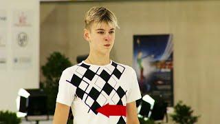 Артем Ковалев Произвольная программа Юноши Линц Гран при по фигурному катанию среди юниоров 2021