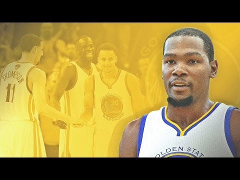 """Kevin """"Horace Grant"""" Durant Signs with Golden State Warriors..."""