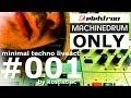 Techno minimal liveact no.1 by Kostistlac Elektron Machinedrum UW