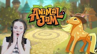 Playing Animal Jam Afтer 8 Years! II Beta Account