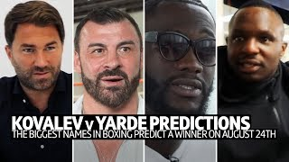 Sergey Kovalev v Anthony Yarde: Who will win? Pro boxers predict their winner...
