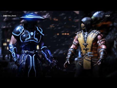 RAIDEN VS SCORPION - MORTAL KOMBAT X ONLINE