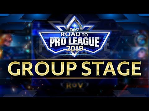 RoV : Road to Proleague 2019 รอบ Group Stages
