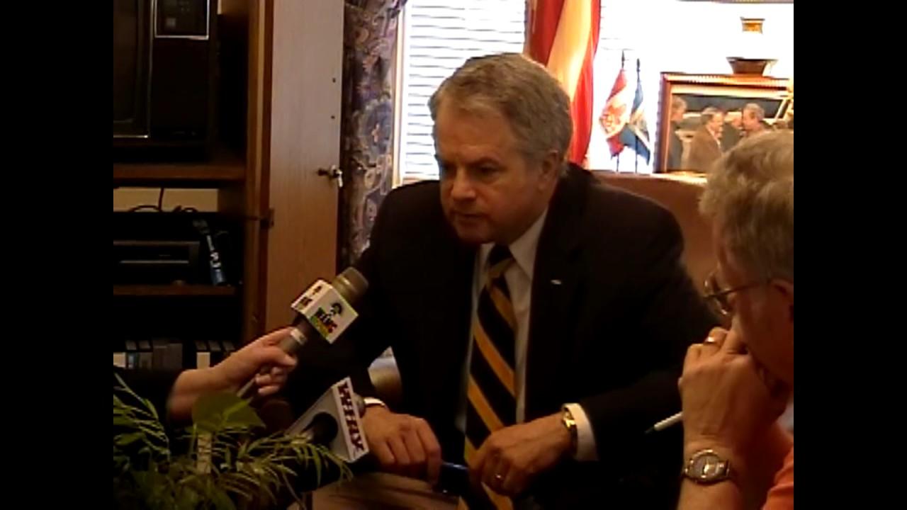 Assemblyman Ortloff Press Conference - November, 2006