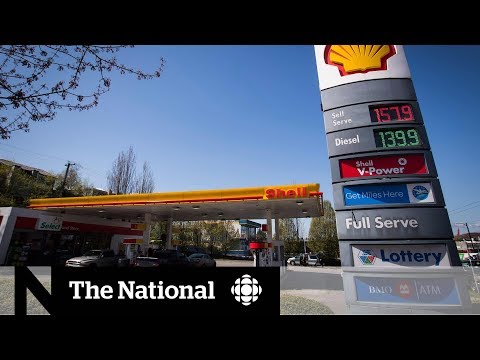 B.C. gas prices set record for highest in North America