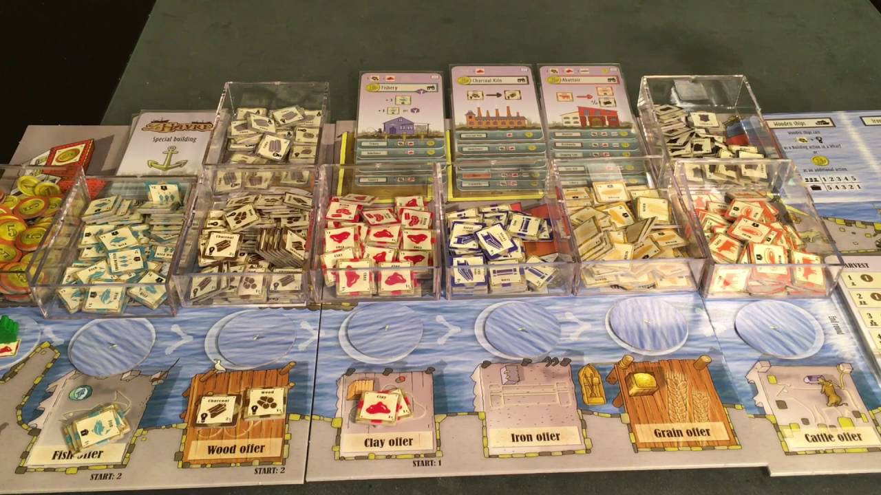Le Havre Board Game Lookout Games BRAND NEW ABUGames