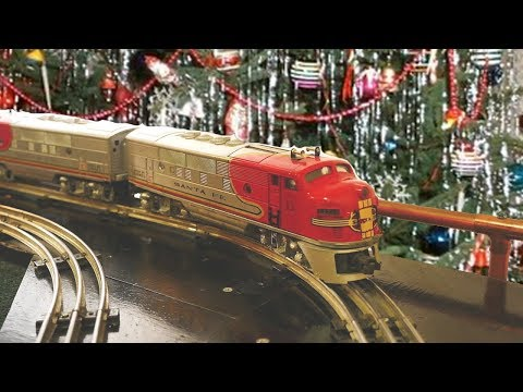 Trains Under the Christmas Tree: Remembering Electric Trains of Christmas Past