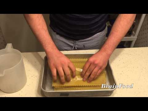 Best way to make homemade noodles for lasagna with oven ready