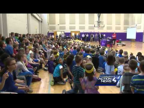 Pittsburgh's Action Weather School Visit: Pivik Elementary School