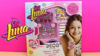 Manualidades para niños - como hacer pulseras de SOY LUNA | Juguetes de Soy Luna en español