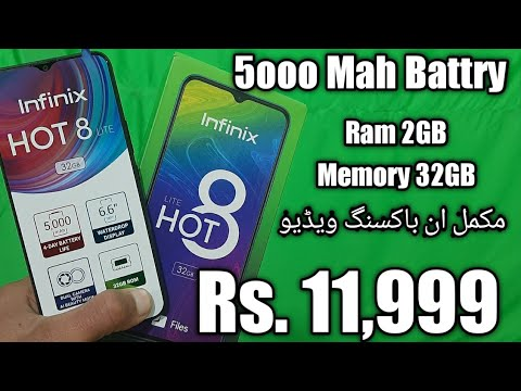 Infinix Hot 8 lite Price,Specifications,Unboxing
