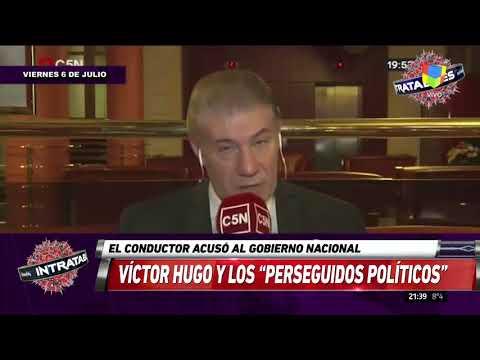Víctor Hugo apuntó contra el gobierno por los presos políticos