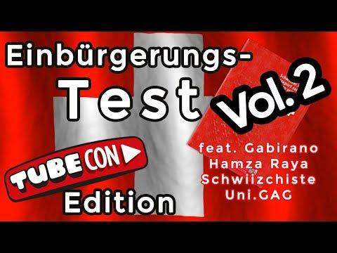 Einbürgerungstest Vol. 2 - feat. Gabirano, Hamza, Robin, Julian & Ramin I Büsser