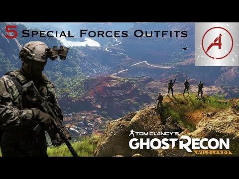 Ghost Recon Wildlands | 5 Special Forces Outfits