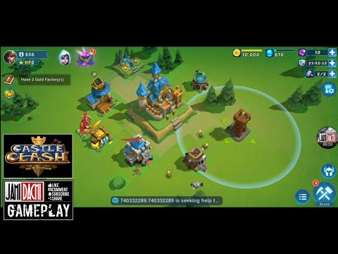 Castle Clash New Dawn Gameplay Android 2019