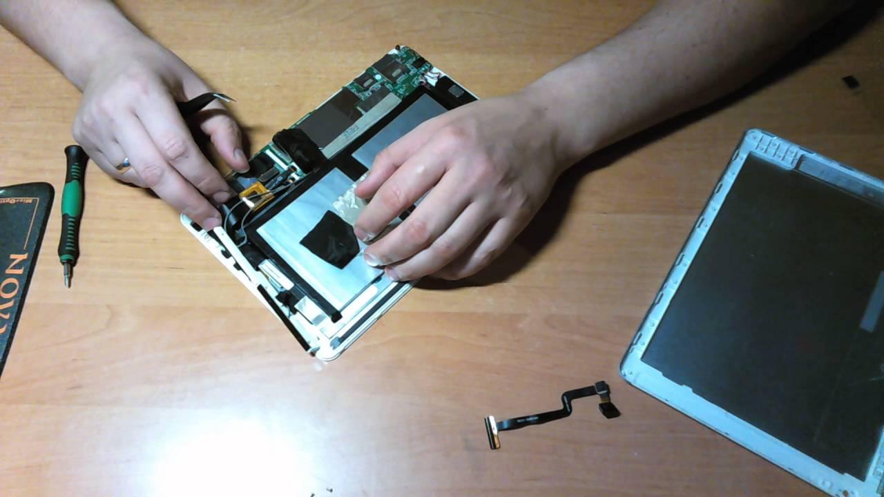Digma Platina 9.7 3G - замена тачскрина / сенсора