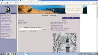 How To Browse Find A Grave