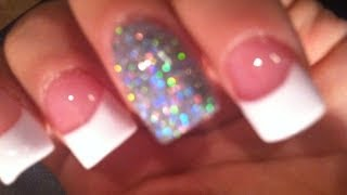 White French Tip Acrylic