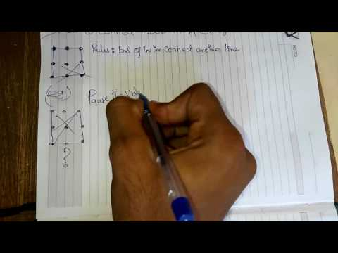 Number Names Worksheets connect the dots in 4 lines : how to connect 9 dots in 4 line - YouTube