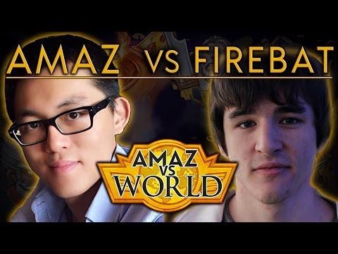 [Hearthstone] Amaz VS World - Amaz VS Firebat Ep 12