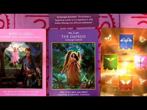 December 26, 2016 - January 1, 2017 Weekly Angel Tarot & Oracle Card Reading