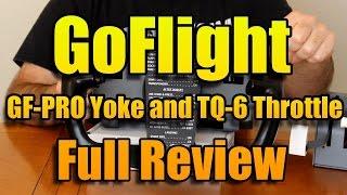 GO-FLIGHT YOKE AND THROTTLE REVIEW
