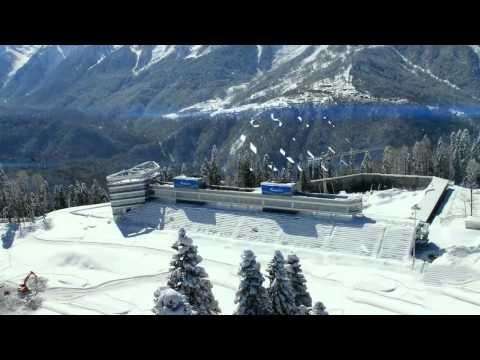 Olympics Pre Tests at Sochi Russia