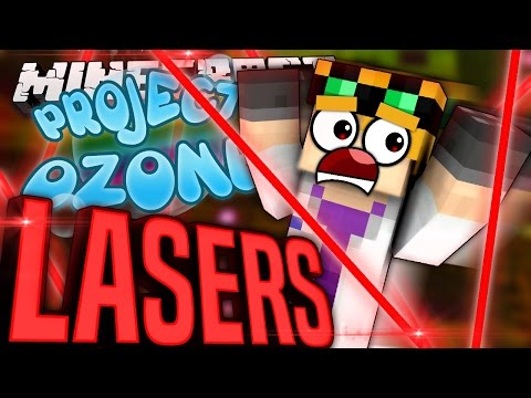 Minecraft - LASERS - Project Ozone #77