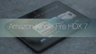 Amazon Kindle Fire HDX 7: Review en Español