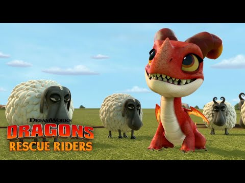 Befriending A Fire Dragon | DRAGONS RESCUE RIDERS