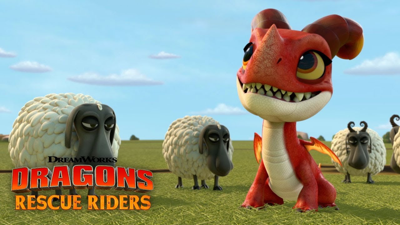 Befriending A Fire Dragon Dragons Rescue Riders Youtube