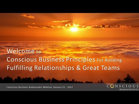 CB Ambassador Webinar: 8 Principles for Relationships & Teams
