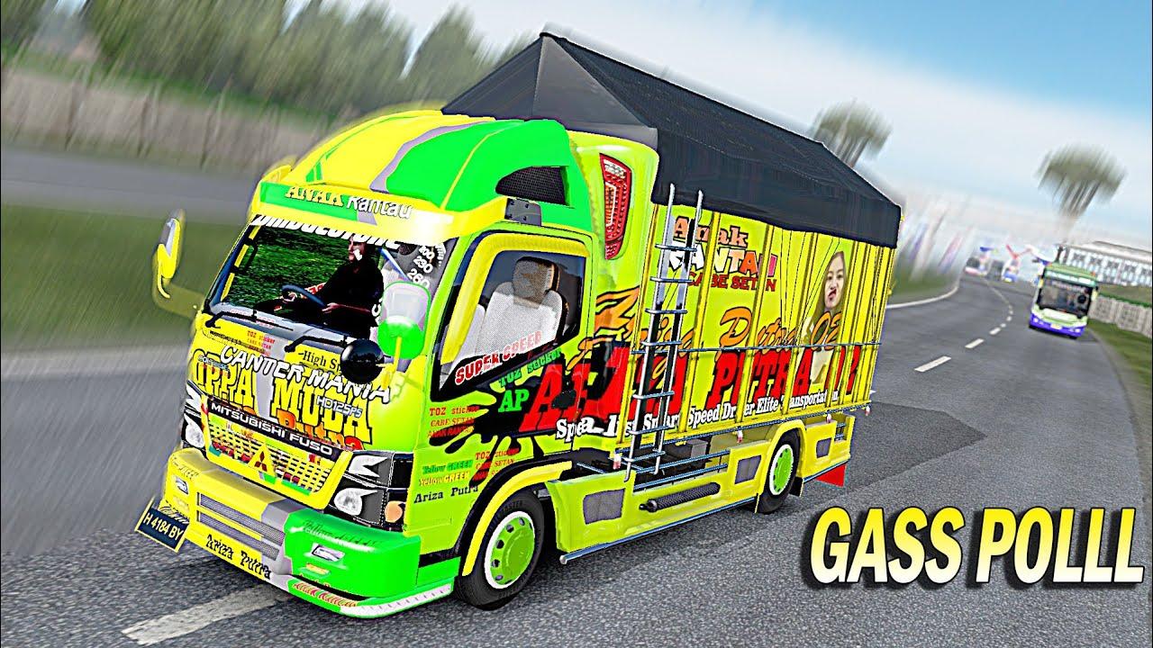 Truk Canter Oleng Kapten Ets2 Truk Cabe Stut Jack Youtube