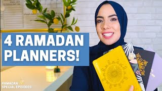 4 Ramadan Planners/Journals - Aweea Ramadan Series