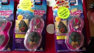 Old Toy Collection Mighty max like new for sale bluebird rare carded action figures dread heads