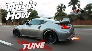 How to Make Your Car 2 STEP/SHOOT FLAMES! (370z) No Tune Needed | Danny Z