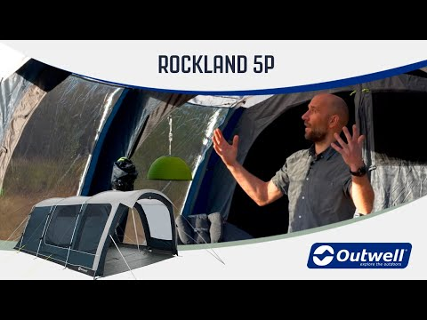 Outwell Rockland 5P - Steel Poled Tent (2020) | Innovative Family Camping