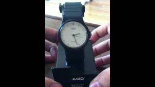 casio cas37 analog watch review