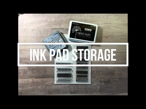 Ink Pad Storage // Cheap & Easy
