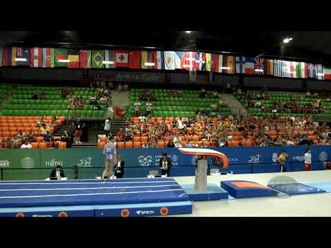 LIMA Ana Luiza (BRA) - 2019 Artistic Junior Worlds, Gyor (HUN) - Qualifications Vault 1