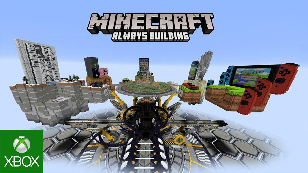 download game minecraft always building