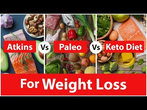 Atkins vs Paleo vs Keto Diet for Weight Loss - Who is the WINNER