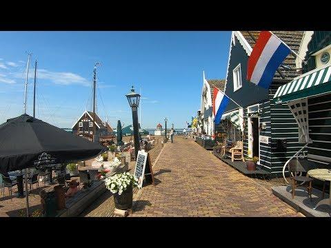 Walking In Marken 🌞 | The Netherlands - 4K60