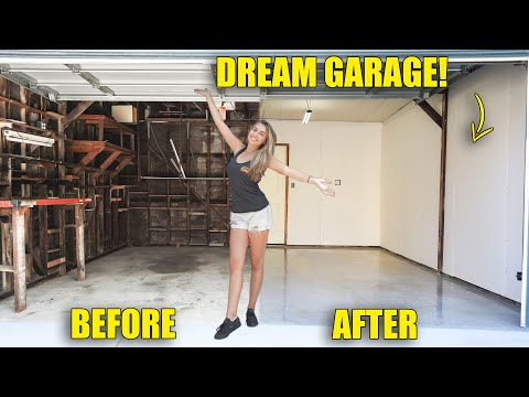 Building my DREAM GARAGE behind My NEW HOME! pt 1 from YouTube · Duration:  13 minutes 45 seconds