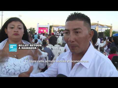 BILLET RETOUR AU NICARAGUA