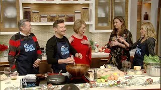 Live's Holiday Entertaining: The Seacrest Family Caesar Salad